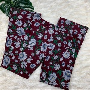 Flying Tomato Floral Flare Pants size Large